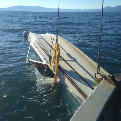 Flipping a Sunken Boat